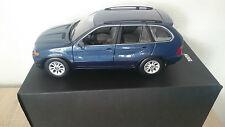 1:18 KYOSHO BMW x5 3,0d BLU SCATOLA ORIGINALE