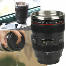 Camera Coffee Cup Lens Thermos Mug Tea Water Liner Travel Thermal EF 24-105mm