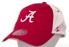 Alabama Crimson Tide Zephyr University Unstructured Mesh Adjustable Hat / Cap