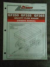 Demco GF250/GF325/GF365 Gravity Flow Wagon Owner's Manual