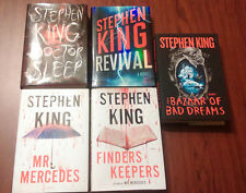 Lot of 5 Stephen King Books HC The Bazaar of Bad Dreams and More!!! Brand New!!!