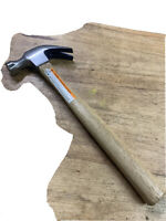 8 Oz VTG Companion Claw Hammer Open Box With Wooden Handler.