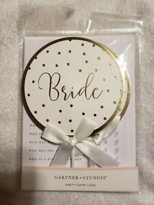 Bride & GROOM paddle Game 20ct BRIDAL WEDDING SHOWER