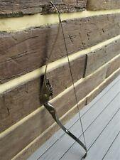 Vintage Bear Black Panther Hunter Recurve Bow 45/50# Pound Pull Left Hand