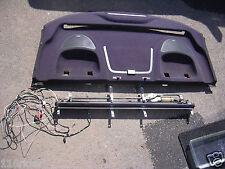 elektrisches Heckscheiben Sonnenrollo schwarz Mercedes-Benz CLK W208 W 208