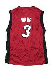 Boy Youth Miami Heat #3 Dwyane Wade  Basketball Jersey Size L 14/16