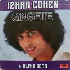 """7"""" 1978 RARE VG++ ! IZHAR COHEN & ALPHA BETA : Gingette"""