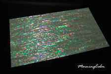 Prism Abalone Narrow Coated Veneer Sheet (MOP Shell Overlay Inlay Papercraft)
