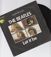 """The Beatles-Let It Be-Original 1970 French Large centrée 7"""" VINYLE SINGLE-P/S"""