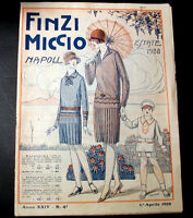 Catalogo Moda - Finzi Miccio - Napoli - Estate 1928