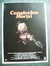 Horror-Cumpleanos Mortal-Happy Birthday to me-Promoinfo