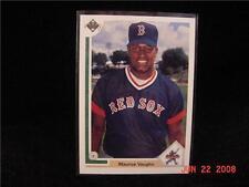 1991 91 UD #5 MO Maurice VAUGHN Rookie RC Upper Deck