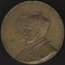 More details for 1914 king george & queen mary visited port sunlight medal   pennies2pounds