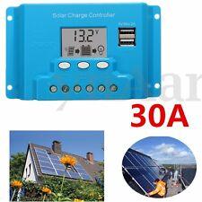 Regolatore di Carica per Batteria Solare 30A 12V-24V Pannello Solare regolatore