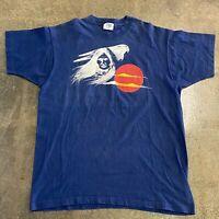 Vintage Native Southwest Navy Graphic T Shirt Size XL
