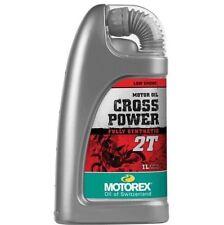 MOTOREX OLIO MISCELA CROSS POWER 2T OIL SYNTHETIC SINTETICO