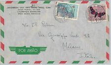 62375 - MOZAMBIQUE Moçambique - POSTAL HISTORY: COVER to ITALY 1959 - BUTTERFLY