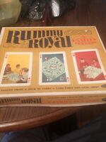 Rummy Royal Vintage 1965 Game by Whitman. Fair Shape