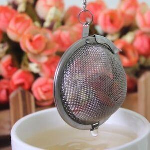 Tea Infuser Stainless Steel Tea Ball Strainer Herbal Flower Filter Cooking Tools