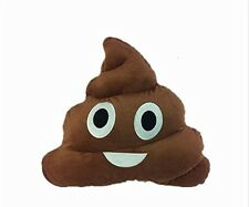 "LARGE 13"" inch Emoji Poo USA SELLER Cushion Pillow Smiley Poop Shape Emoticon 33"