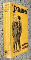 1933 1ST SATURDEE, NORMAN LINDSAY w RARE CARDCOVERS, FREE EXPRESS W/W