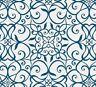 Benartex Wrought Iron Blue Celestial Lights Fabric Collection by Amanda Murphy