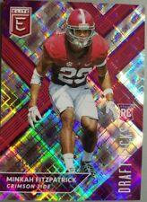 Minkah Fitzpatrick 2018 Draft Picks Collegiate ASPIRATIONS RC #'ed 23/99 SP!!