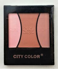 City Color Sunlight Trio Blush Highlighter & Bronzer Light Pink Quick Shipping