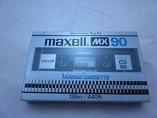Maxell MX 90 Reference Metal Tape C-90 1980 Japan Neu New Sealed RARE!!!