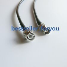 BNC male plug to BNC female jack RF Pigtail Coaxial Jump RG58 Cable 30cm 12inch