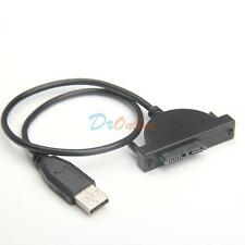 USB 2.0 TO SATA 13p Slimline 7+6 Pin 13 Pin Female DVD Adapter Cable