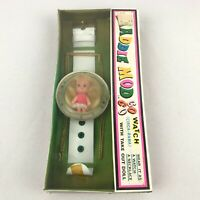 Brand New Sealed Maddie Mod Go Go Watch 1967 Mego Corp Take Out Doll Clear