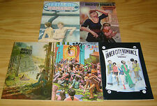Inner City Romance #1-5 VF complete series - guy colwell - underground set 2 3 4