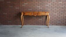 Console / Entry Table / Hall Table / Country French Sofa Table by Ethan Allen