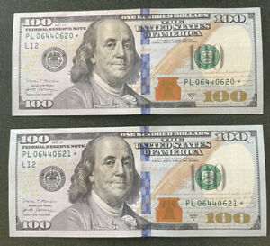 (1) 2017A $100 One Hundred Dollar Bill *Star Note*