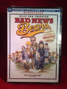 Bad News Bears (DVD, 2005 Widescreen Special Collectors Edition)  **BRAND NEW**