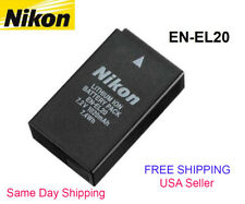 EN-EL20 Battery for Nikon Coolpix A 1 J1 J2 J3 S1 V3 AW1