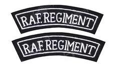 britannique Military Régiment de RAF épaule Titres - WW2 REPRO BRAS INSIGNES