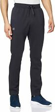 Under Armour Mens Rival Sweat Pants Black Large L Tapered Fleece Knit $45 475