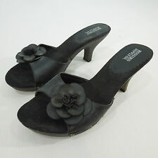 MOSSIMO Women's Black Clogs Sandals, Slip On size 9.5