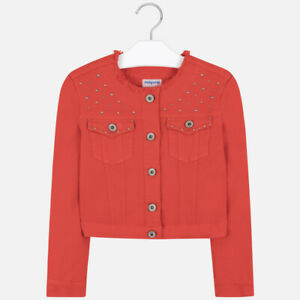 New Girls Mayoral Jacket With Studs, Age 8 Years , (6460)