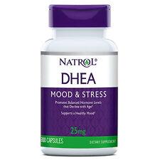 NATROL DHEA, 25 MG (300 TABLETS) enhance mood calcium test boost testosterone