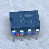 1PCS LM387AN Encapsulation:DIP-8,LM387/LM387A Low Noise Dual Preamplifier