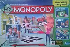Monopoly Board Game-Faites votre propre jeu!!! 8+ ans Neuf/Scellé