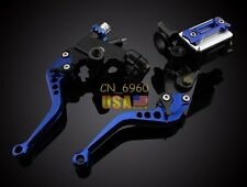 "7/8"" Hydraulic Brake Cable Clutch CNC Levers for Honda GROM 14-16 CBR600RR 03-16"