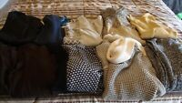 Mixed Lot of 10 misses Shirts-sweaters size Large