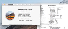 "MacBook Pro A1286 Mid 2010 15"" Core i5-520M 2.4GHz 8GB RAM 1TB HDD macOS 10.13"