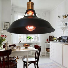 Black Chandelier Dinning Room Vintage Ceiling Light Bedroom LED Pendant Lighting