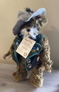 HERMANN TEDDY BEAR ALP-OEHI LIMITED EDITION 296/1000 WITH TAGS