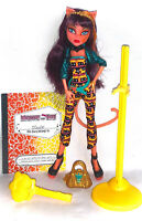 Monster High Doll Cleolei Cleo Toralei Freaky Fusion Complete VGC